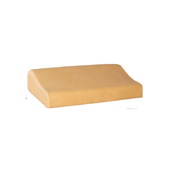 Beenkussen 75x50x6-19 cm