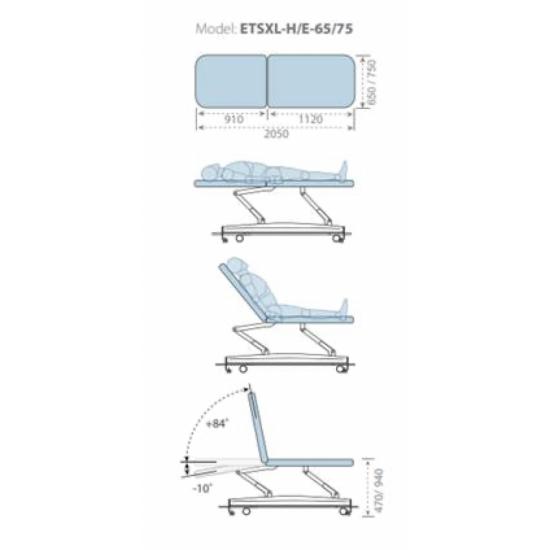 Table massage Novak M 2...